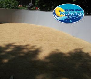 Piscine à base ovale dans une piscine 18x33-A.G.